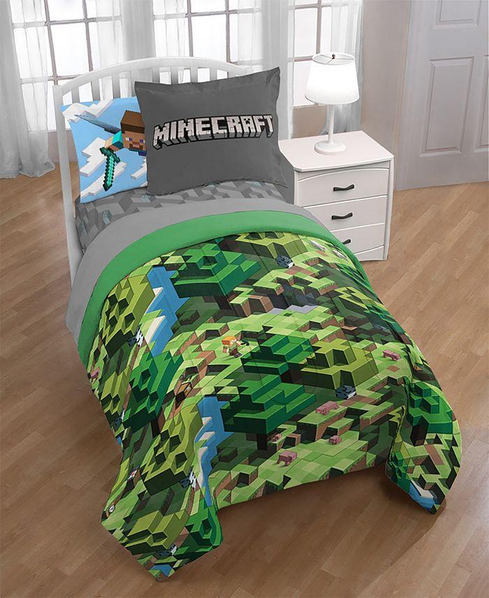 Jay Franco - Minecraft Full 8-Pc. Comforter Set