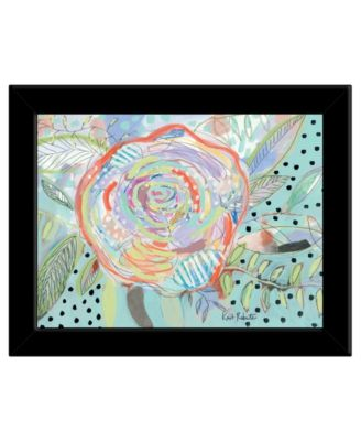 Bloom for Yourself by Kait Roberts, Ready to hang Framed Print, White Frame, 19
