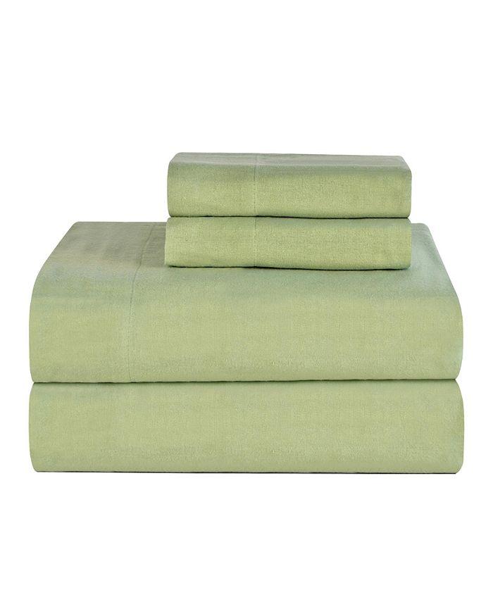 Celeste Home - California King Ultra Soft Flannel Sheet Set