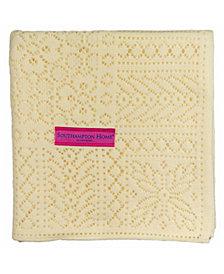 Southampton Home Lace Weave Baby Shawl