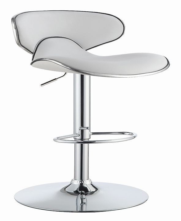 Coaster Home Furnishings Barstow Adjustable Height Bar Stools with Swivel Seat, Set of 2