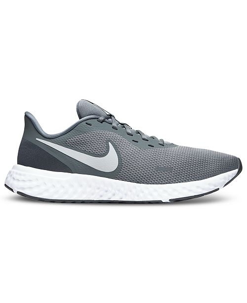 Típicamente Condensar Más que nada  Nike Men's Revolution 5 Running Sneakers from Finish Line & Reviews -  Finish Line Athletic Shoes - Men - Macy's