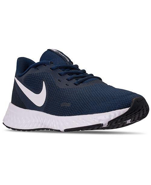 Nike Men's Revolution 5 Running Sneakers from Finish Line ...