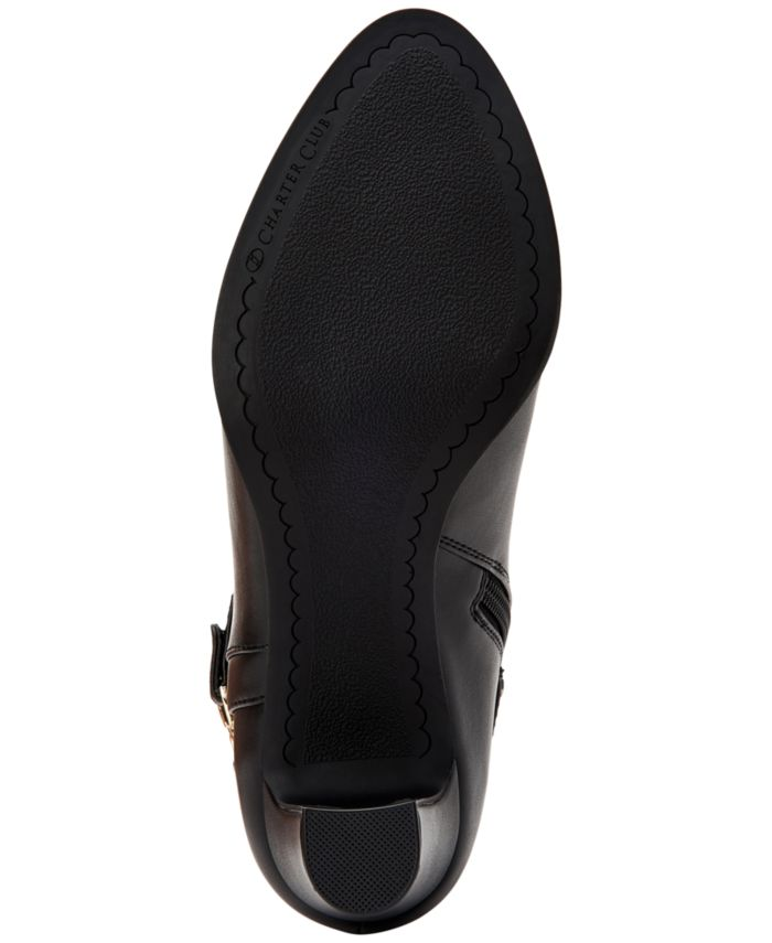 Charter Club Women's Pixxy Dress Booties, Created for Macy's & Reviews - Boots - Shoes - Macy's