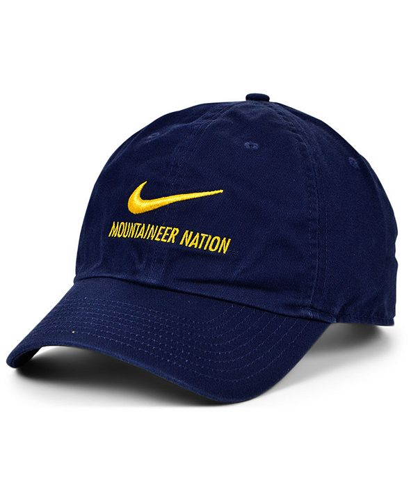 Nike West Virginia Mountaineers Team Local H86 Cap