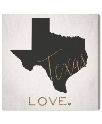 Texas Love Canvas Art, 24