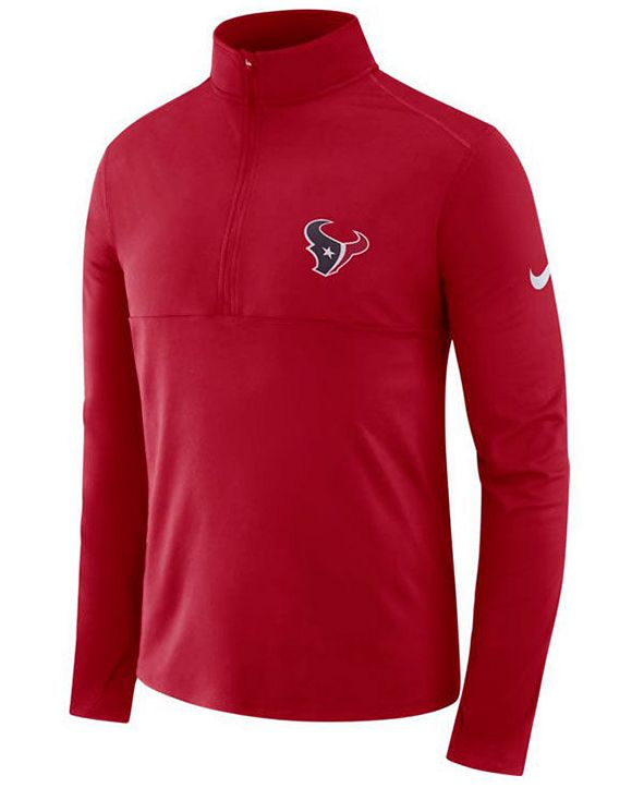 Nike Men's Houston Texans Core Half-Zip Pullover