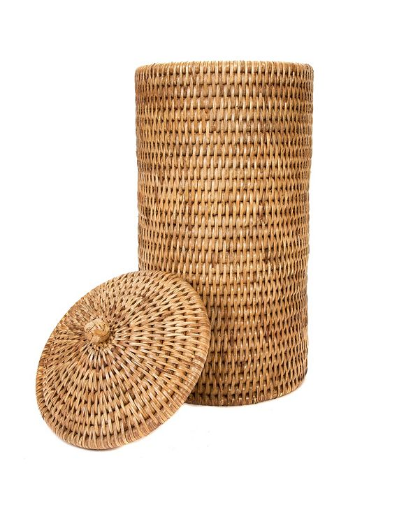 Artifacts Trading Company Rattan Double Toilet Roll Holder