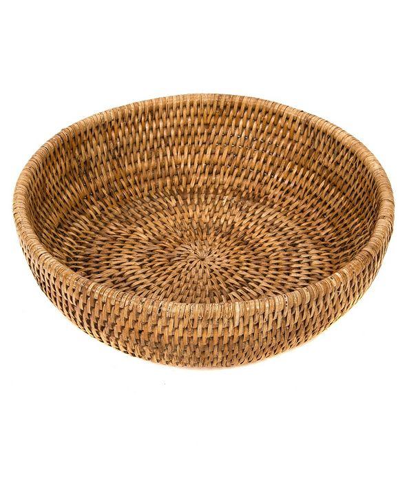 Artifacts Trading Company Rattan Bowl