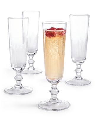 Architect Champagne Flutes, Set of 4, Created for Macy's