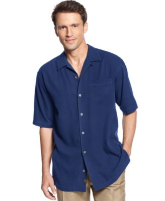 Image of Tommy Bahama Men's Short-Sleeve Catalina Twill Shirt
