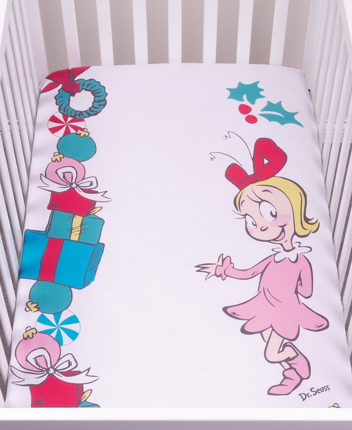 Trend Lab - Cindy Lou Who Flannel Photo Op Crib Sheet