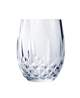 Cristal D'Arques 10oz Stemless Wine Glass, Set of 4
