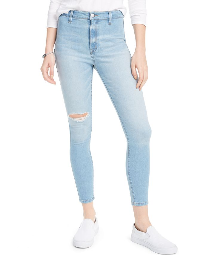 Tinseltown - Juniors' High-Rise Skinny Ankle Jeans