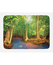 Ambesonne Rainforest Bath Mat