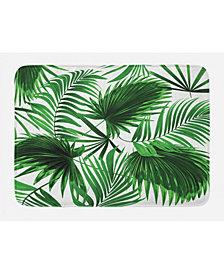 Ambesonne Palm Leaf Bath Mat