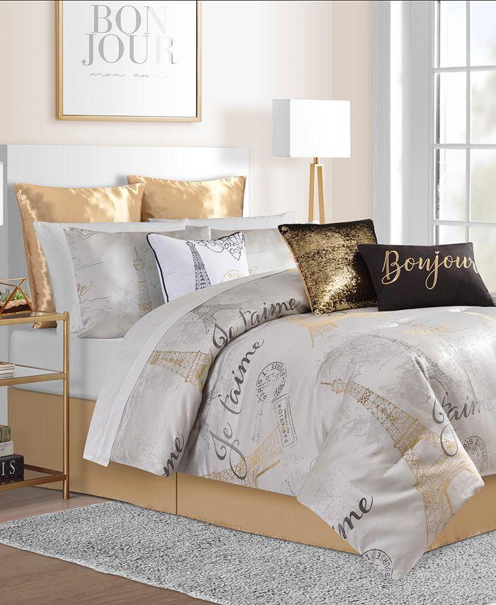 Sunham - Je'Taime 14-Pc. Comforter Sets
