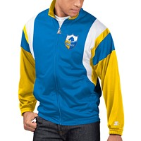 Deals on Starter Mens Los Angeles Chargers The Contender Track Jacket