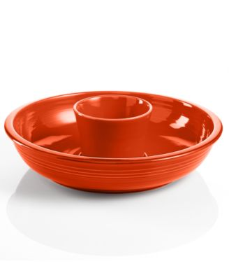 Fiesta Paprika Chip and Dip Set
