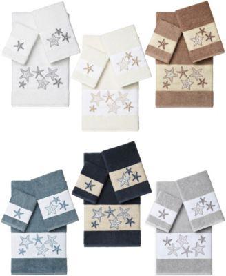 Turkish Cotton Lydia 8-Pc. Embellished Towel Set