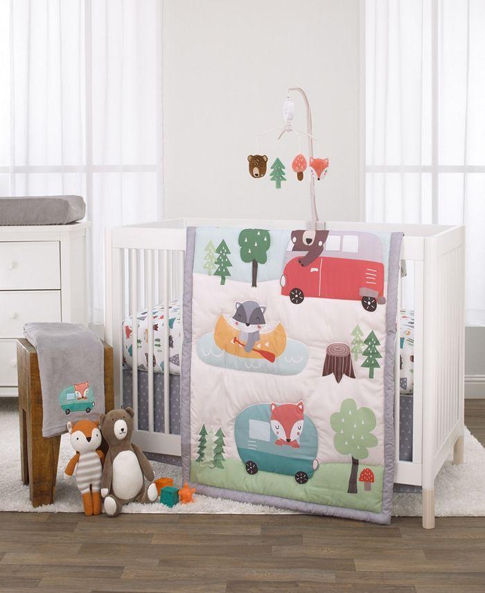 NoJo - Retro Camper 3-Piece Crib Bedding Set