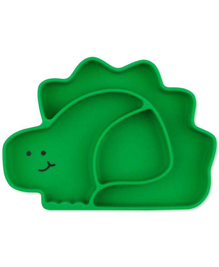 Bumkins - Dinosaur Silicone Grip Dish