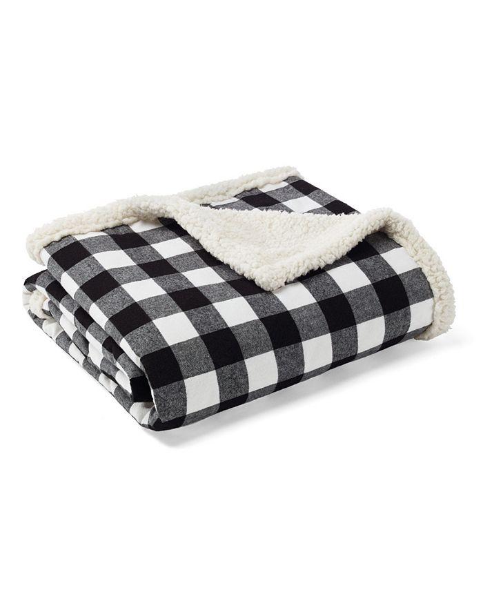 Eddie Bauer - Cabin Plaid Throw and Pillow Set