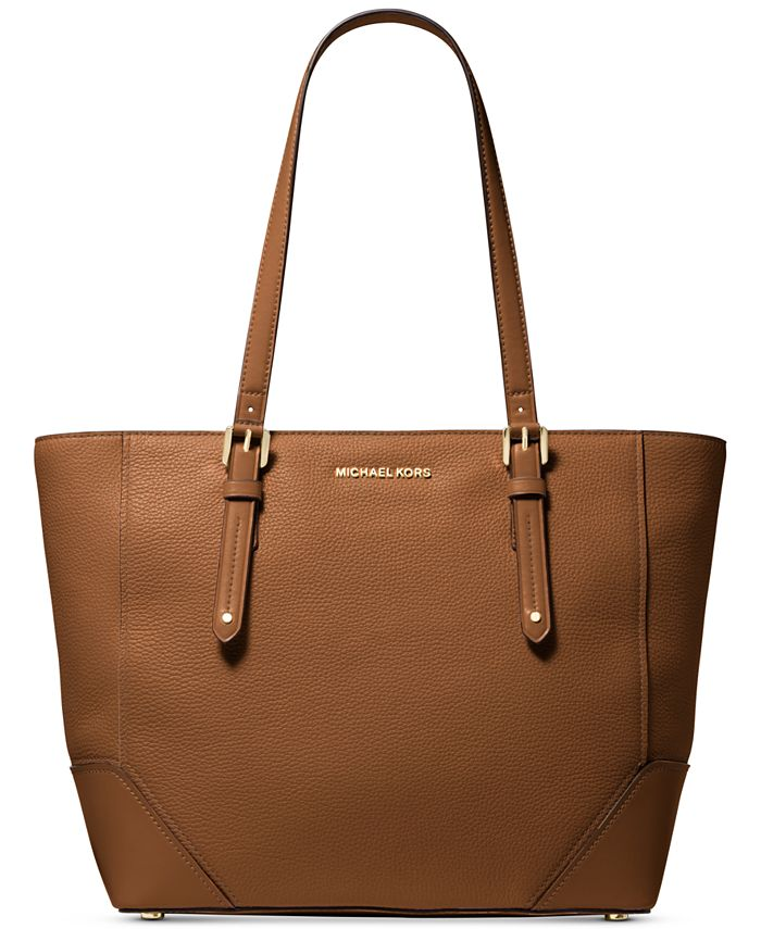 Michael Kors Aria Large Leather Tote