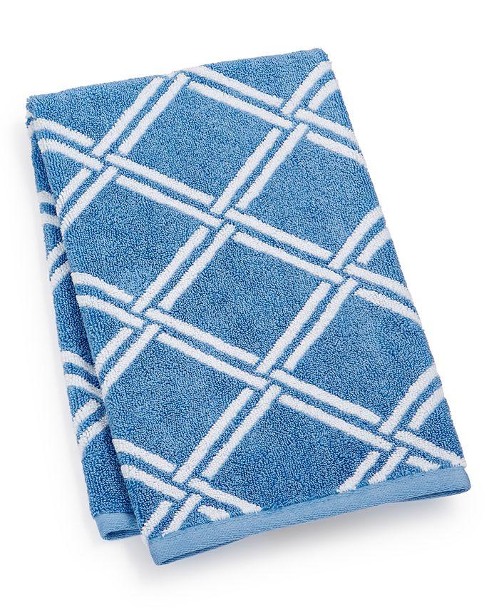"Charter Club - Elite Cotton Lattice 16"" x 30"" Hand Towel"