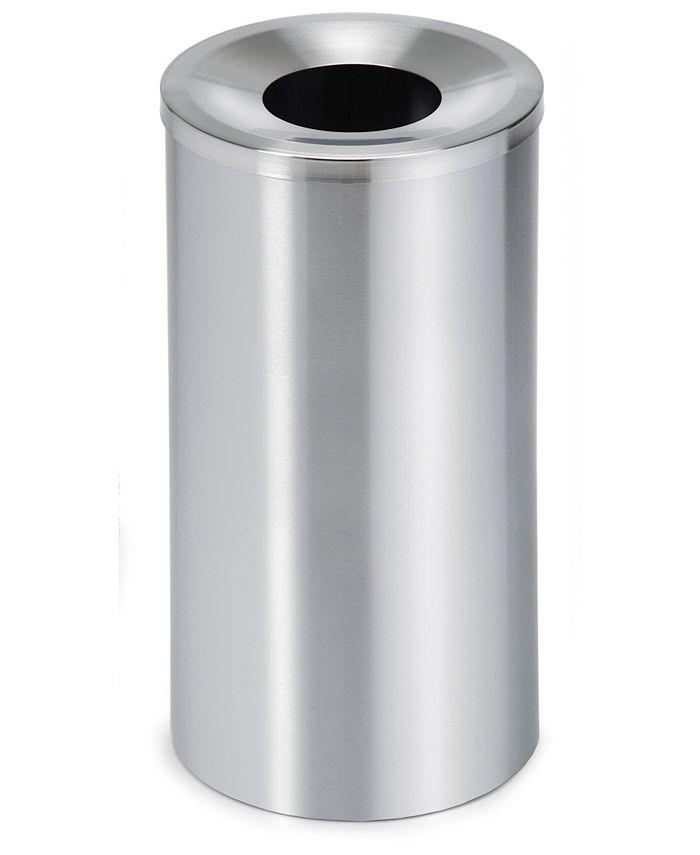 blomus - Stainless Steel Wastepaper Basket - Lid