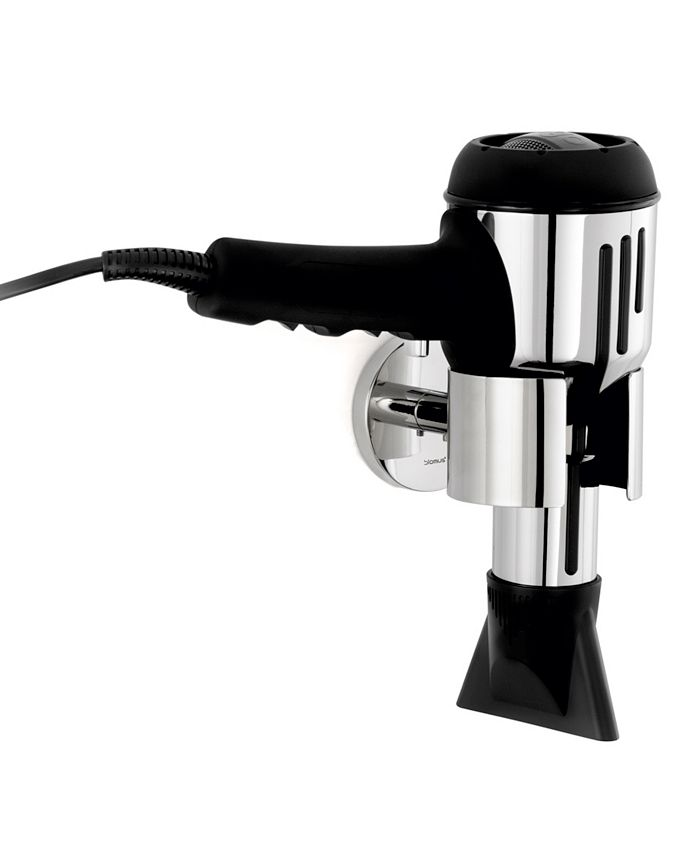 blomus - Wall Mounted Hair Dryer Holder - Polished - Nexio