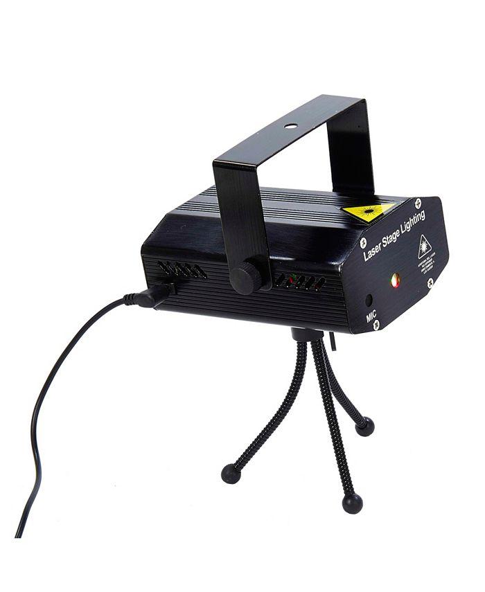 Kurt Adler - Mini Laser Stage Disco Lighting