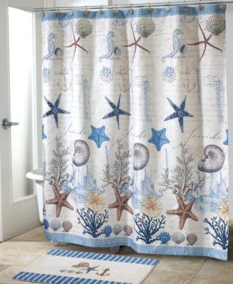 Antigua Shower Curtain Hooks