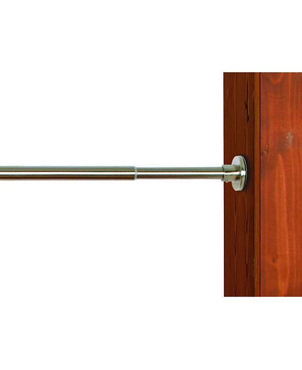 Versailles Home Fashions Green Room Stainless Steel Duo Tension Rod Collectionn