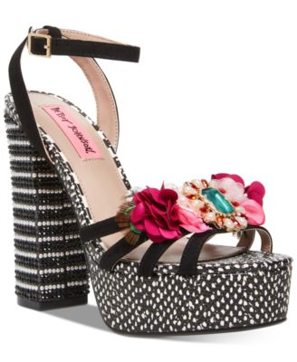 Betsey Johnson Marlo Platform Sandals