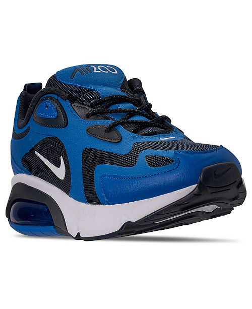 Nike Men's Air Max 200 Running Sneakers from Finish Line ...