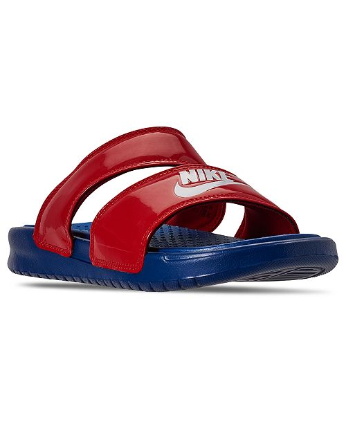Escudriñar voz Recientemente  Nike Women's Benassi Duo Ultra Slide Sandals from Finish Line & Reviews -  Finish Line Athletic Sneakers - Shoes - Macy's