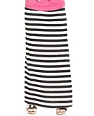 American Rag Plus Size Skirt Striped Maxi