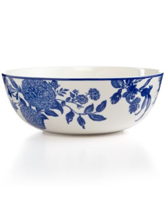 Martha Stewart Collection Orleans Cobalt Vegetable Bowl