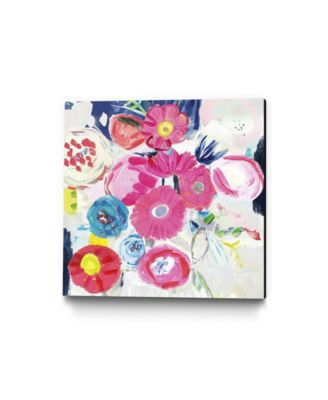 """30"""" x 30"""" Fresh Florals III Museum Mounted Canvas Print"""