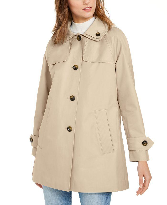 London Fog - Hooded Raincoat