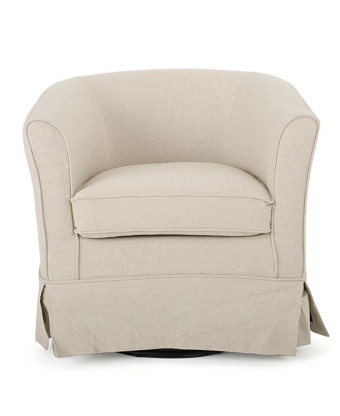 Noble House - Cecelia Accent Chair, Quick Ship