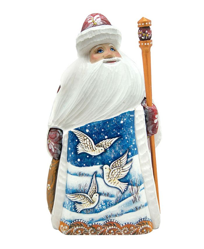 G Debrekht Woodcarved And Hand Painted Dove Santa Figurine Reviews Shop All Holiday Home Macy S