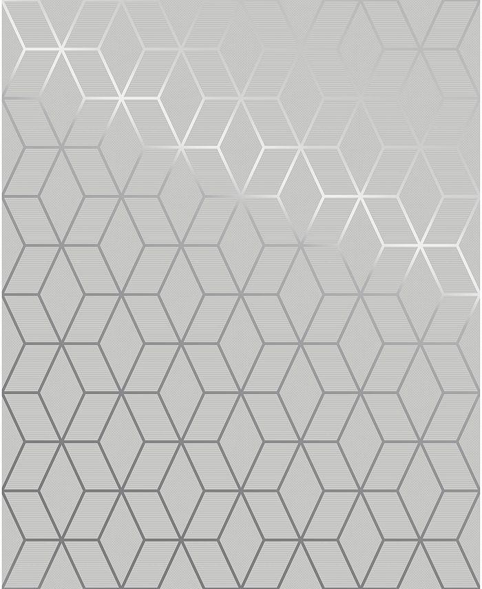 Graham & Brown - Prism Grey Wallpaper