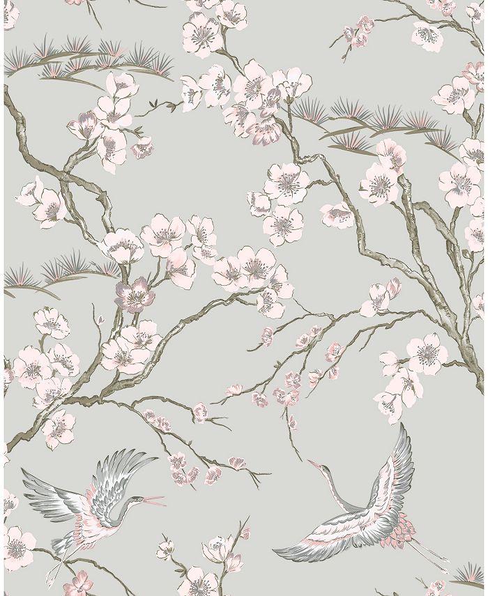 Graham & Brown - Japan Pink Wallpaper