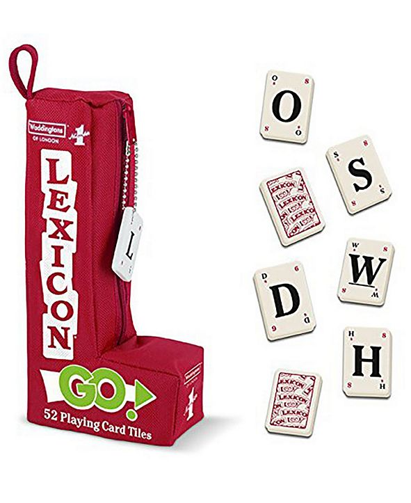 Top Trumps Waddington's Number 1 Lexicon Go Word Game - 52 Playing Card Tiles