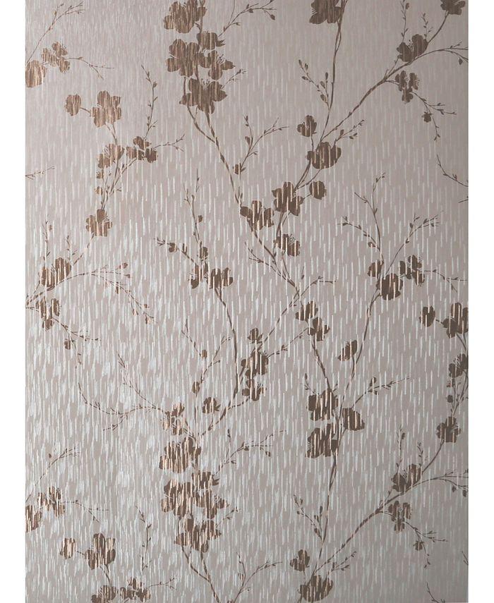 Graham & Brown - Theia Blossom Cream Wallpaper