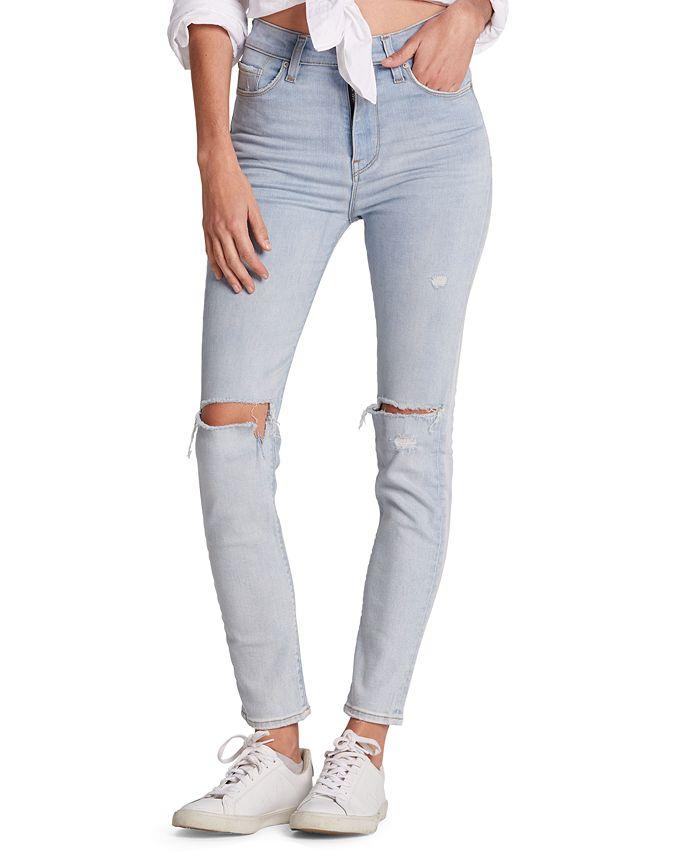 Hudson Jeans - Distressed Skinny Jeans