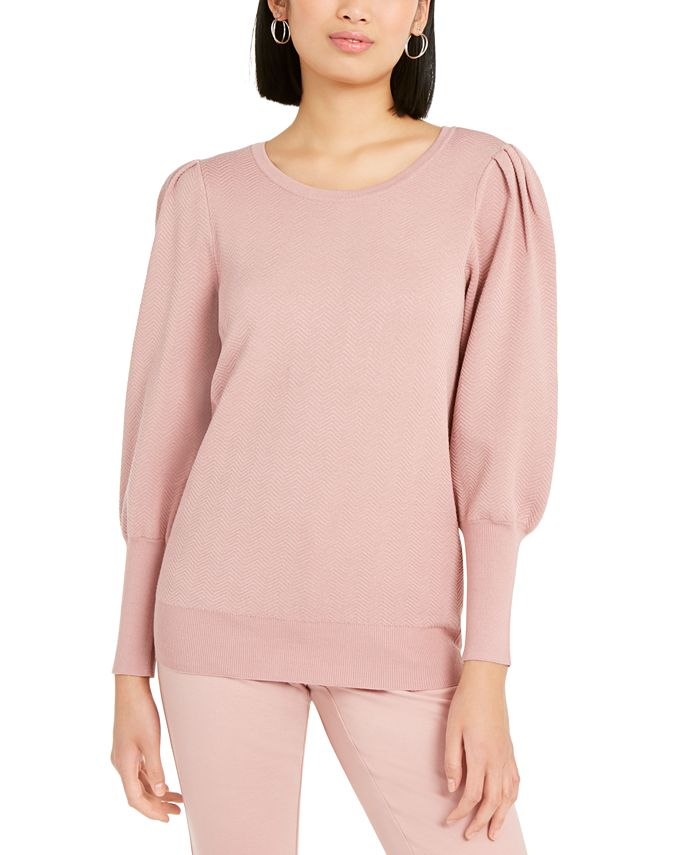 Alfani - Puff-Sleeve Sweater