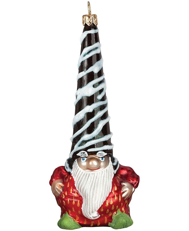 Joy to the World Glitterazzi Chocolate Covered Strawberry Gnome Santa